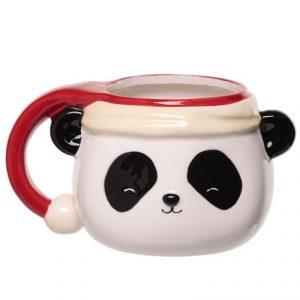 Mug panda de Noël